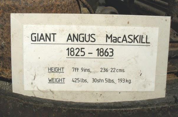 Giant Angus McAskill Musuem, Isle of Skye