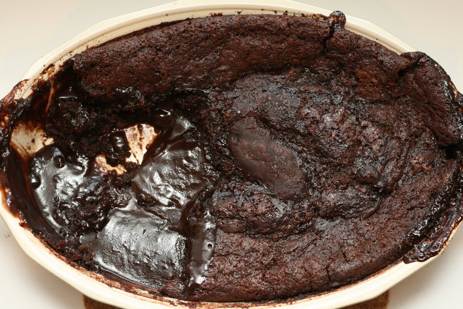 The Nummy Little Blog: Mom's Chocolate Cobbler