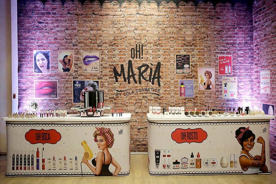 oH! Maria by Lola Cosmetics - Maquiagens - Lançamento