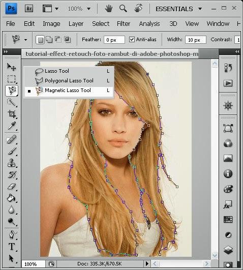 Foto Model Rambut Vector