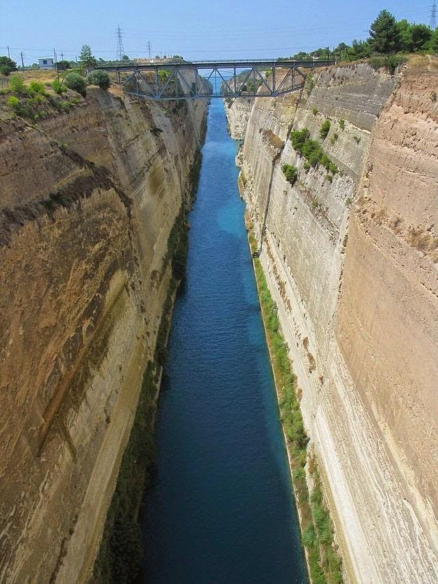 Canal De Corinto, Greece