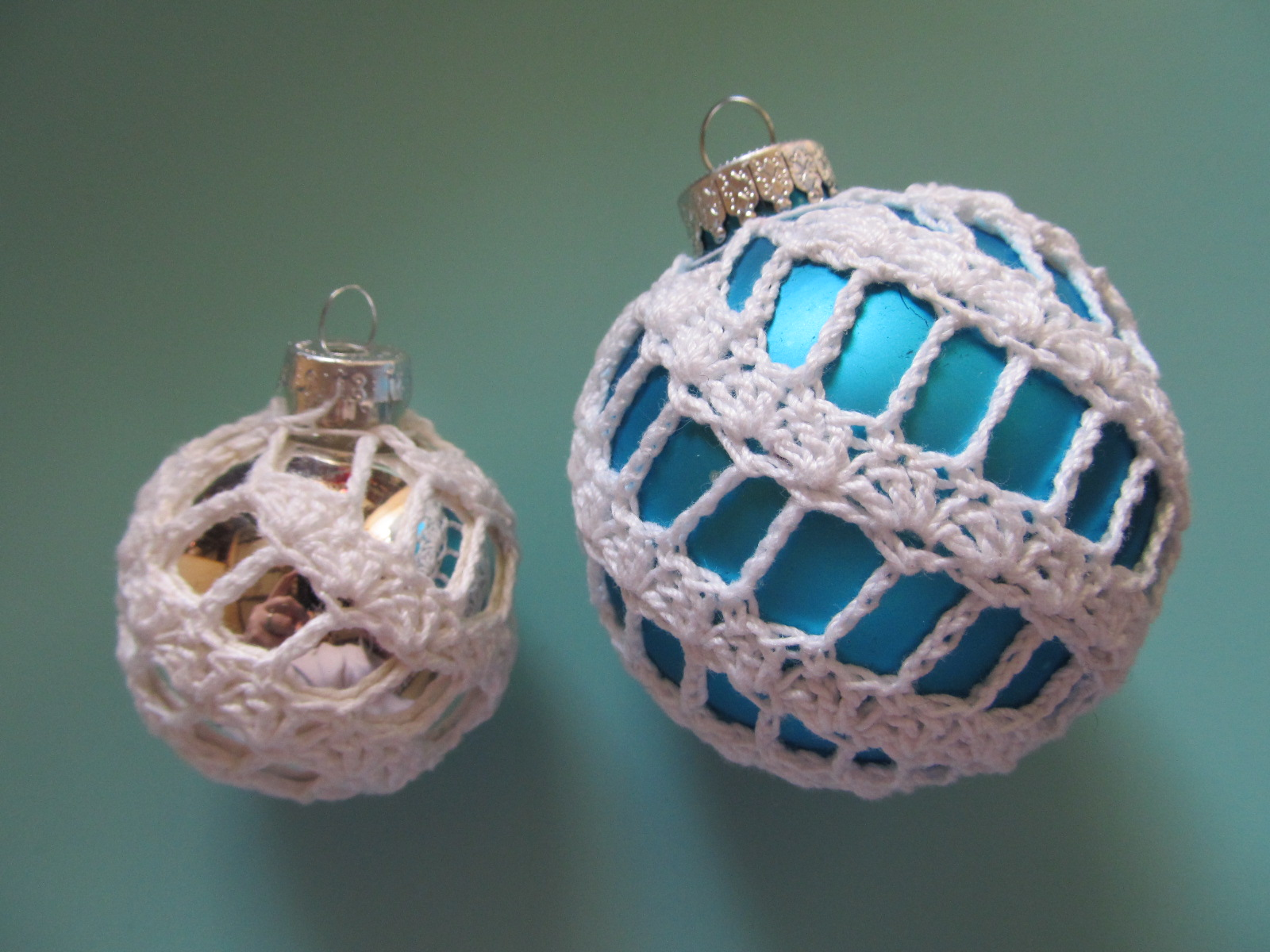Simply crochet and other crafts spiral christmas ornament