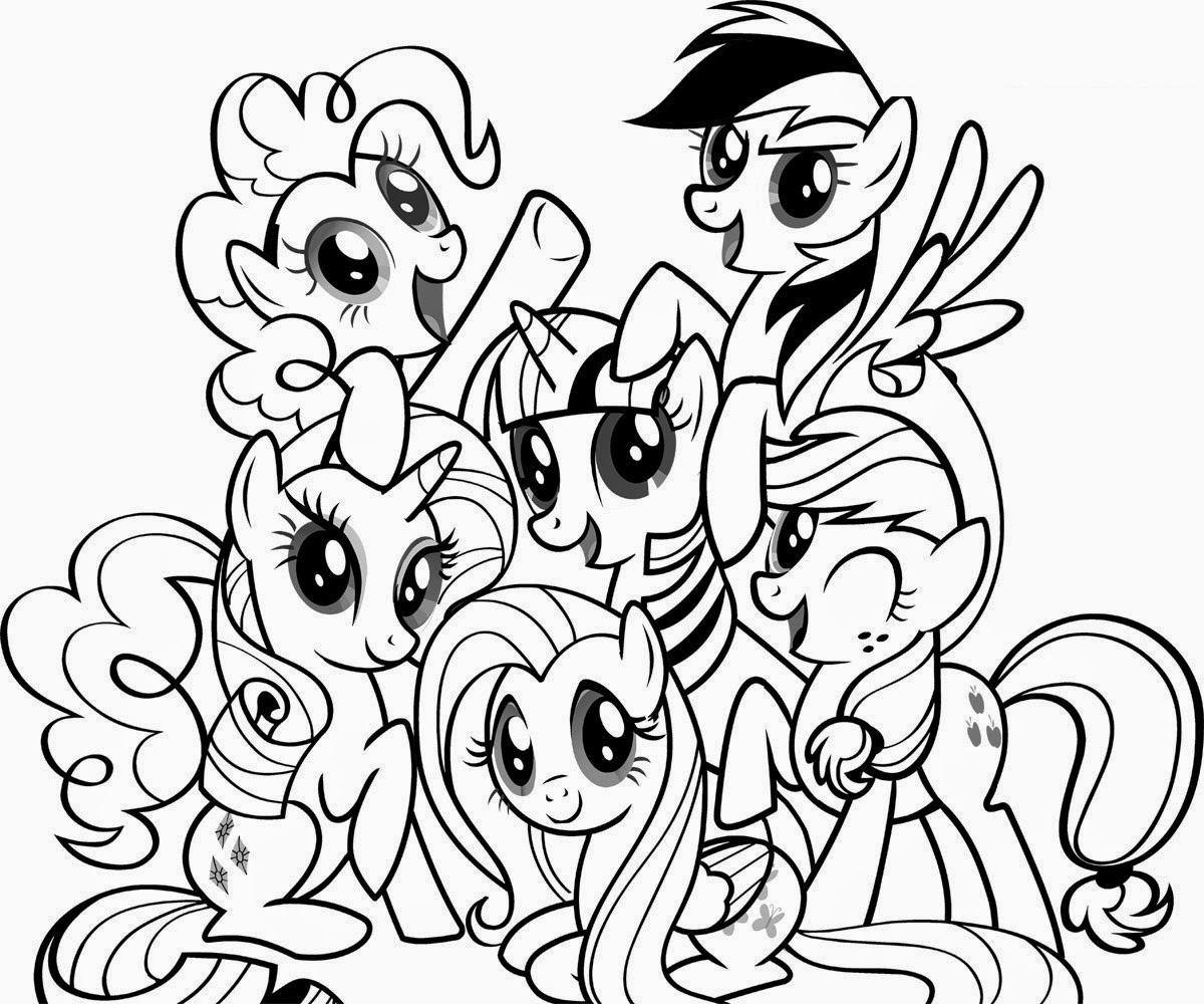 My little pony unicorn coloring pages - My Little Pony Coloring Filminspector Com