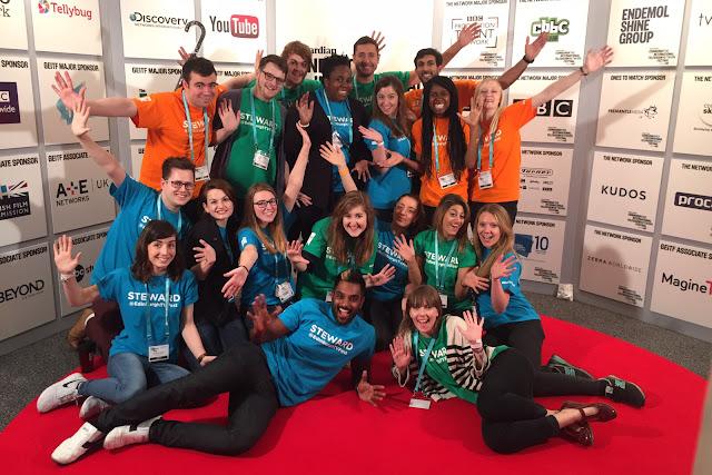 Hello Freckles Edinburgh International Television Festival 2015 Stewards