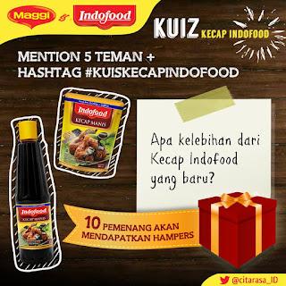 Info Kuis - Kuis Kecap Indofood Berhadiah Hampers