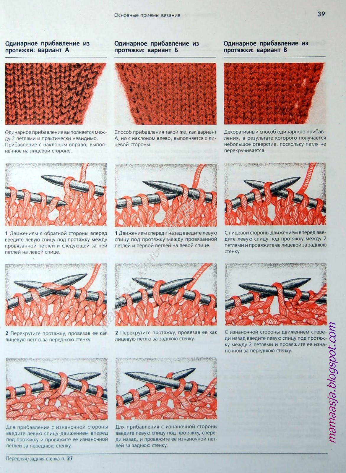 Как закрывать петли при вязании спицами на изнаночной