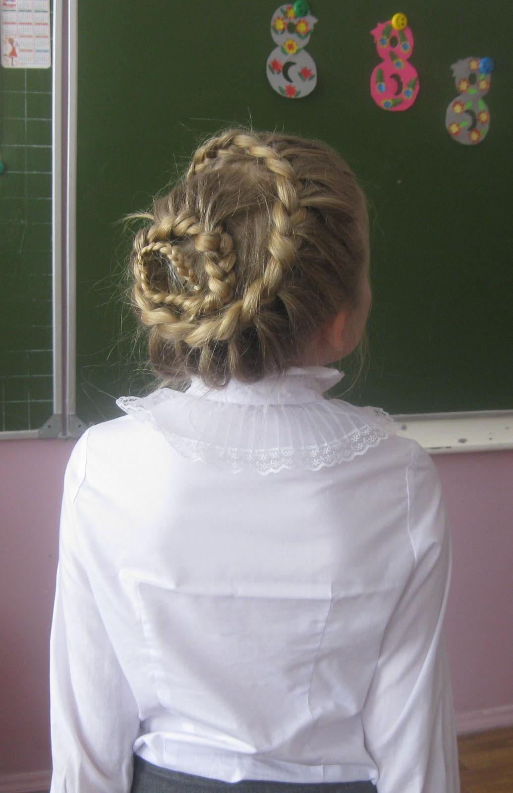 Прически девочке на конкурс