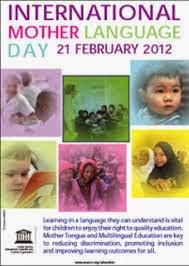 Afiche Día Internacional de la Lengua Materna 2012 - UNESCO