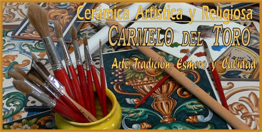 CARMELO DEL TORO Cerámica Artistica y Religiosa