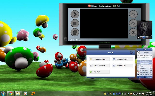 TechBase Windows sidebar gadget