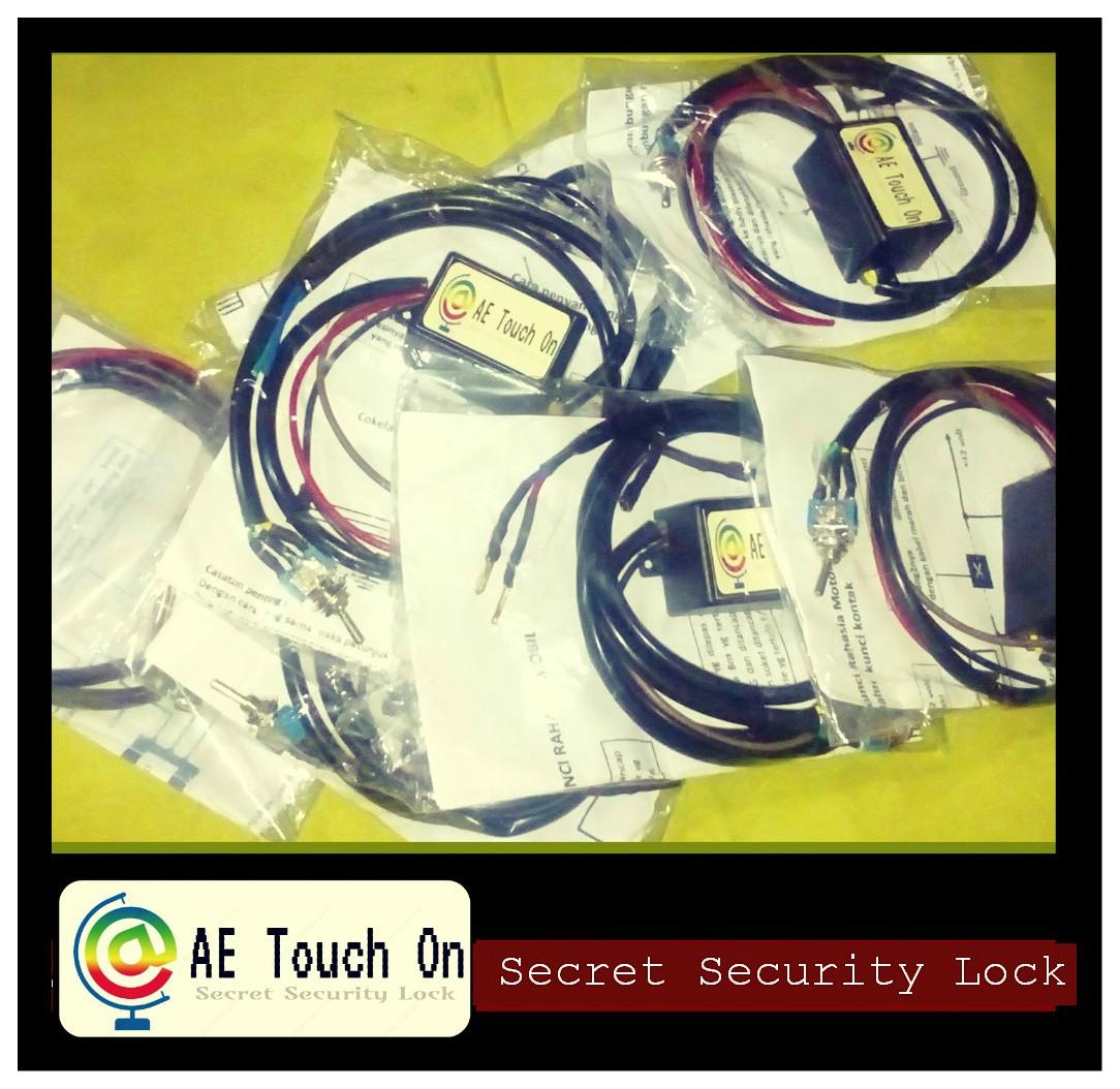 AE Touch On | Sensor Kunci Pengaman Rahasia