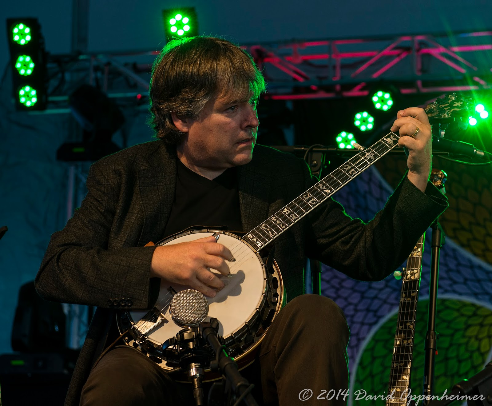 Bela Fleck performing at LEAF Festival