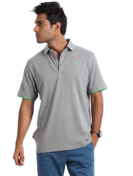 Buy Puma Men's Cotton Blend Polo at Flat 50% OFF at Rs.549 : Buy To Earn