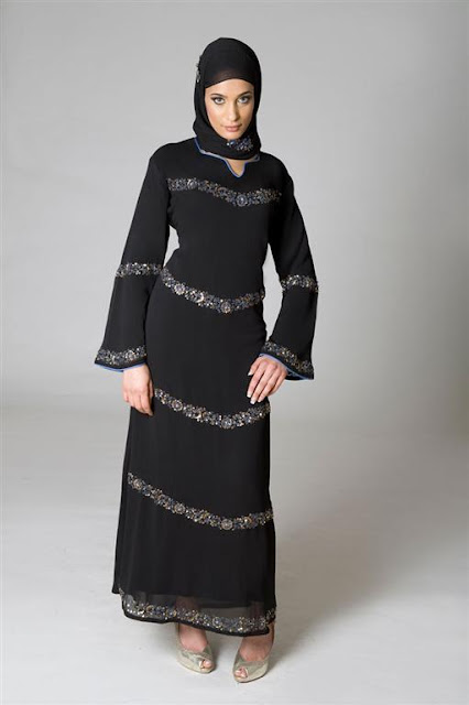 Pakistani Abaya Design 2012