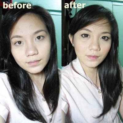 Makeup with Circle Lenses