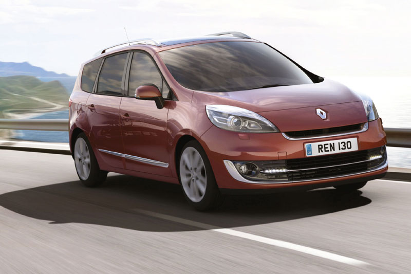 all about speed video renault scenic and renault grand scenic 2012. Black Bedroom Furniture Sets. Home Design Ideas