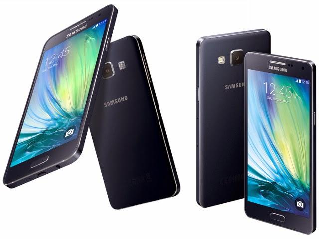 سامسونغ تكشف عن هاتفيها الجديدين Galaxy A3 و  Galaxy A5