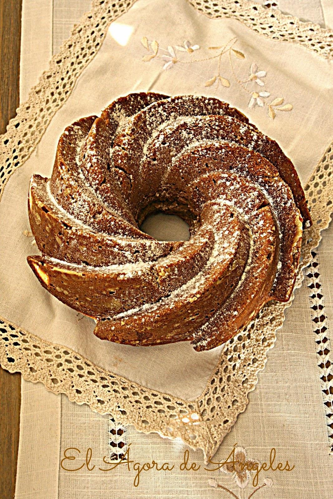 Bundt cake de calabaza bizcocho desayuno merienda