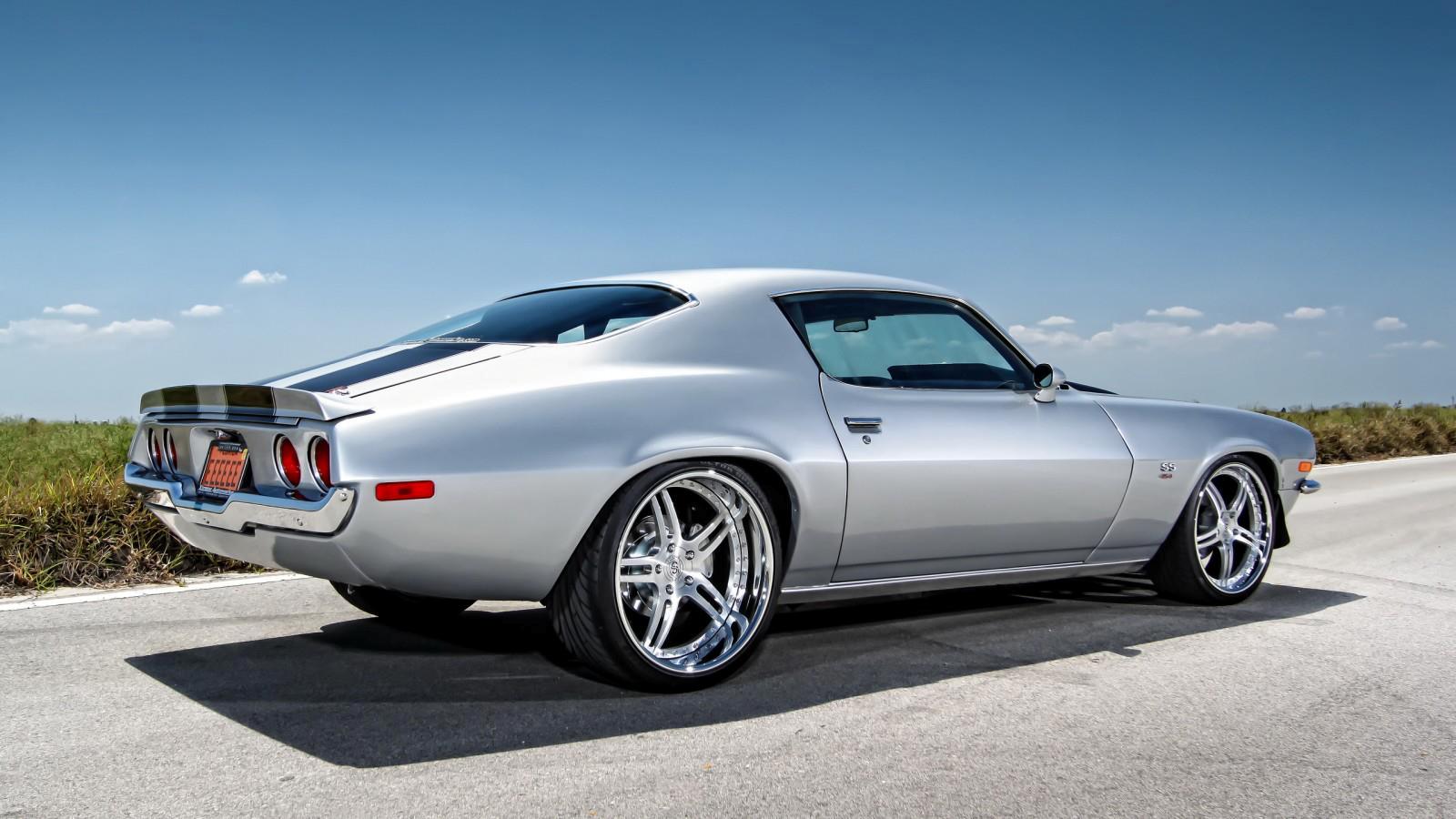 Chevy Camaro Muscle Car