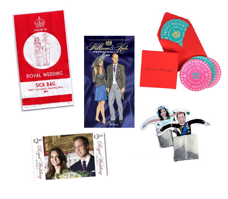 tacky royal wedding memorabilia. With the Royal Wedding of