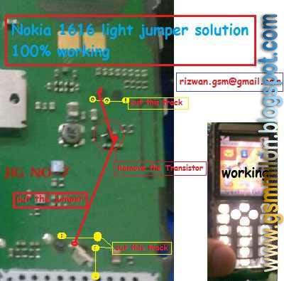 Nokia 1280-1616-1800 Light Solution