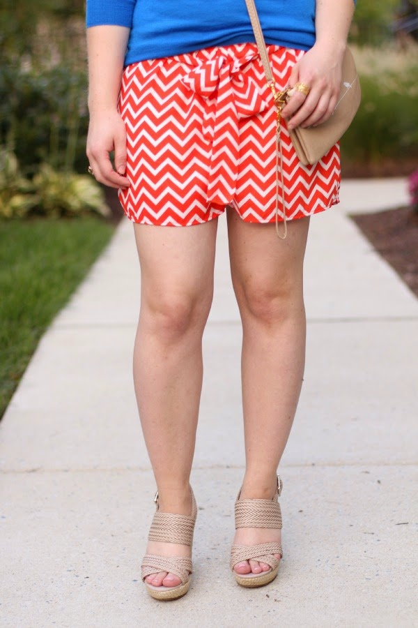 The Mint Shorts | Something Good, sole society wedges, the mint julep boutique, j.crew sweater