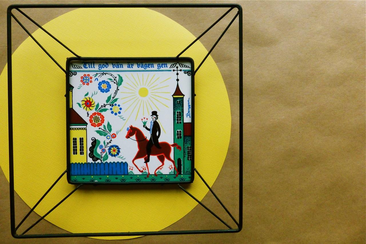 Design Spotlight: Vintage Berggren Ceramic Wall Hangings | Under The ...