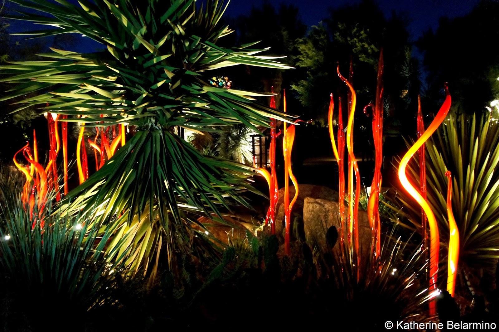 Dale Chihuly Cattails Desert Botanical Garden Phoenix Arizona