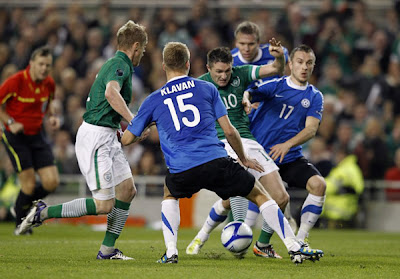 Ireland 1 - 1 Estonia (2)