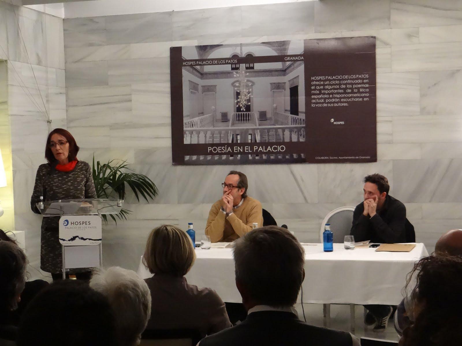 Presentación en Granada en el Palacio de los Patos