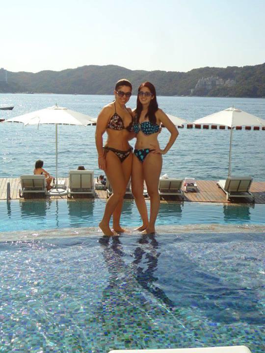 De Infarto Rocio Sanchez Azuara Y Su Hija En Bikini Posted On By