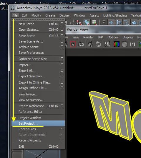 Maya Vector Render for AI 09