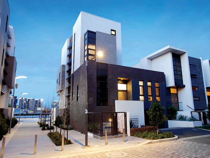 Modern Cabinet Modern Waterfront House At Docklands Melbourne