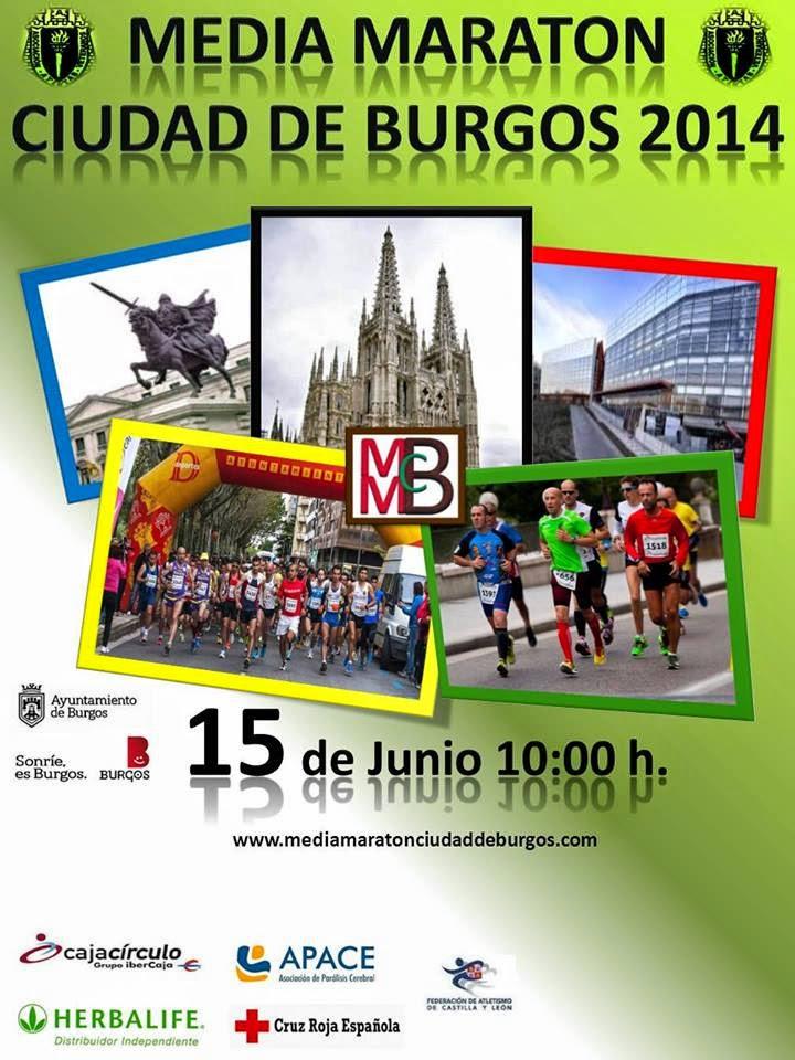 media maraton ciudad de burgos