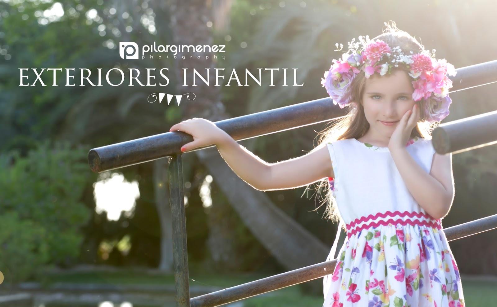 Sesión Exteriores Infantil Pilar Giménez Blog