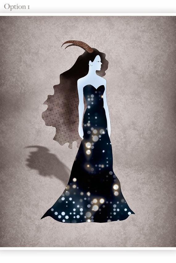 Ilustracion Fashion Mujer Capricornio