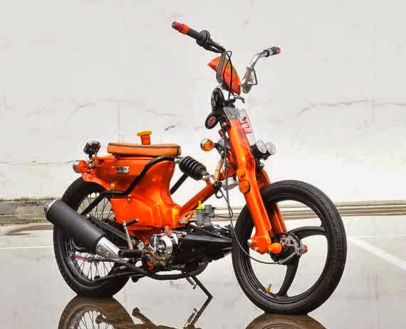 Foto Modifikasi Honda Astrea Grand Terbaru