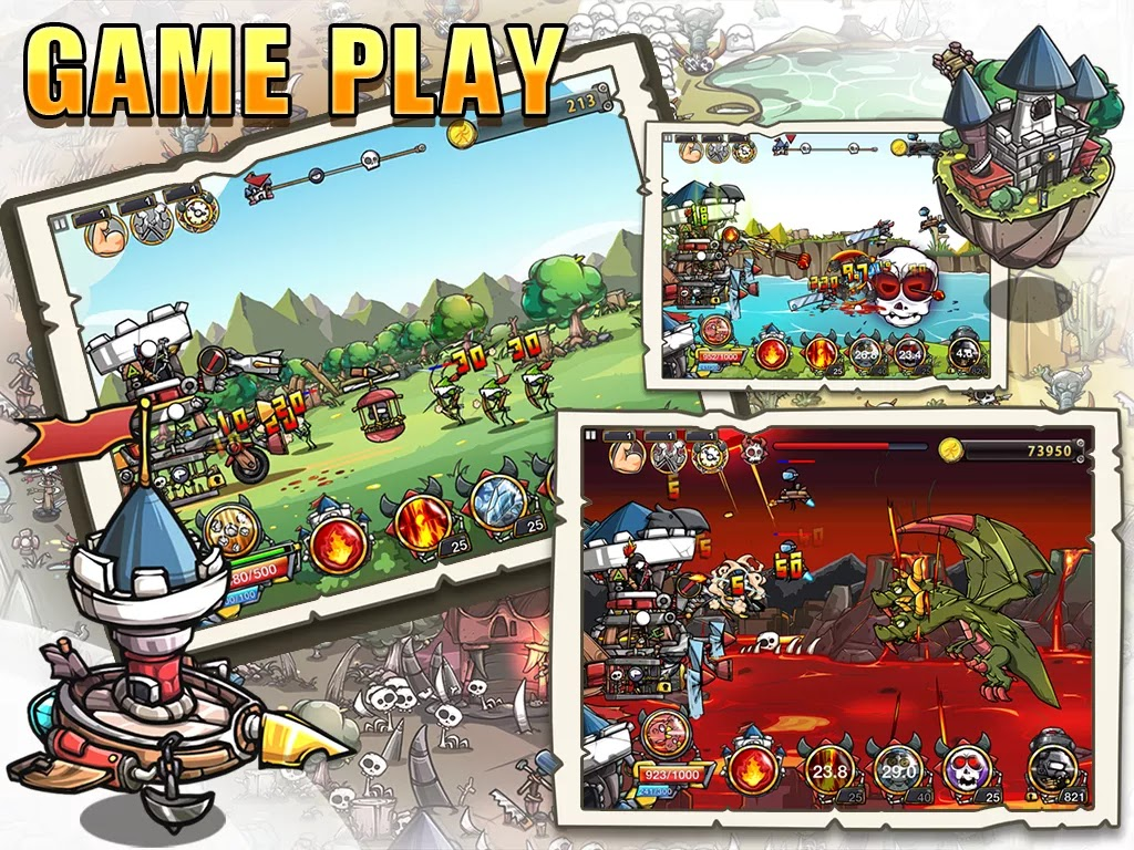 Screenshot Cartoon Defense 4
