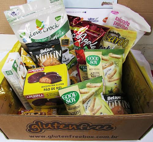 GlutenFree Box   Agosto (Dia dos Pais)