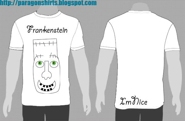 Frankenstein Shirt Design