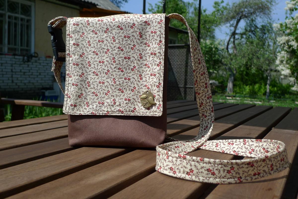 Как сшить маленькую сумочку своими руками из ткани