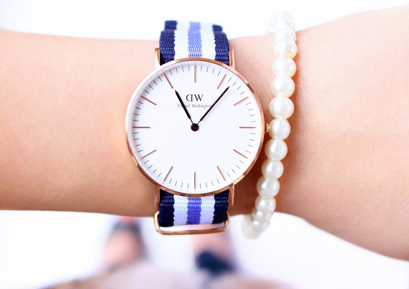 Daniel Wellington Classic Trinity Lady Watch RosyChicc