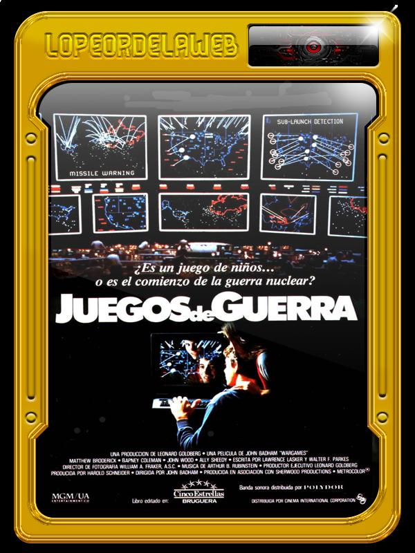 WarGames (Juegos de Guerra) (1983) 720p-Dual-Mega