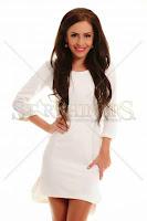 Rochie PrettyGirl Hot Pick White (PrettyGirl)