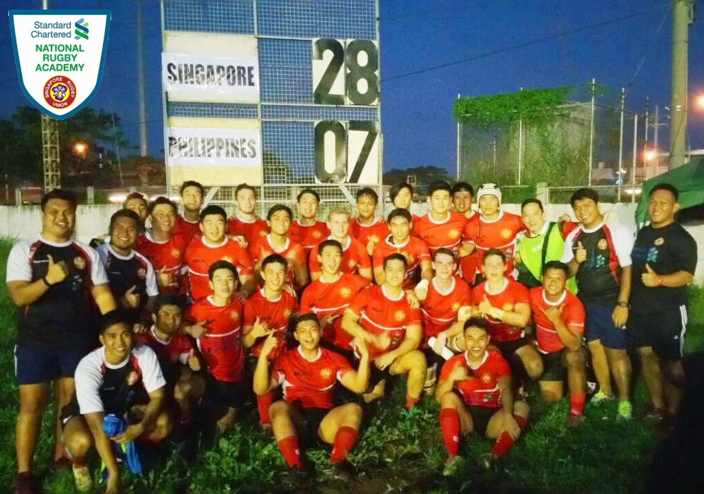Singapore (SCNRA) Under 19 Team Through To Finals of the 2014 ARFU Under19 Junior Championship Division 2