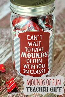 Mounds of Fun Teacher Gift by Lil Luna.