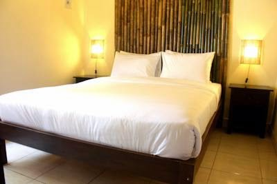 Kamar Hotel Murah Bamboo Homestay Jogja