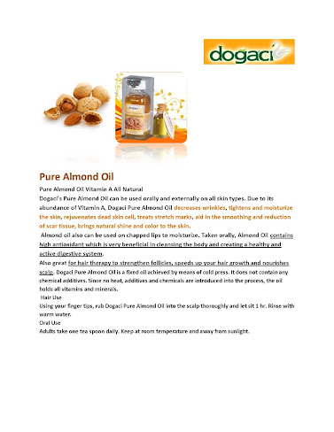 Dogaci Pure Almond Oil