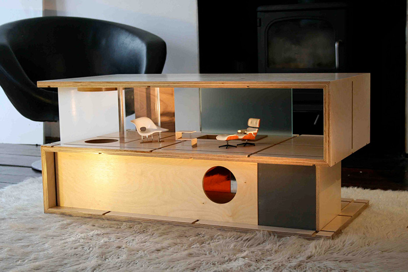 Qubis - Amy Whitworth'S Modern Doll Houses That Double As