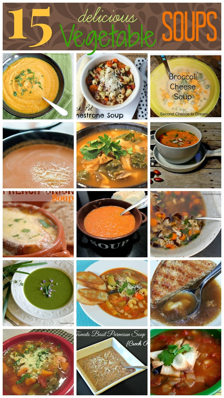 Fabulous Fixes: Seven Days of Soup: Vegetable Soup